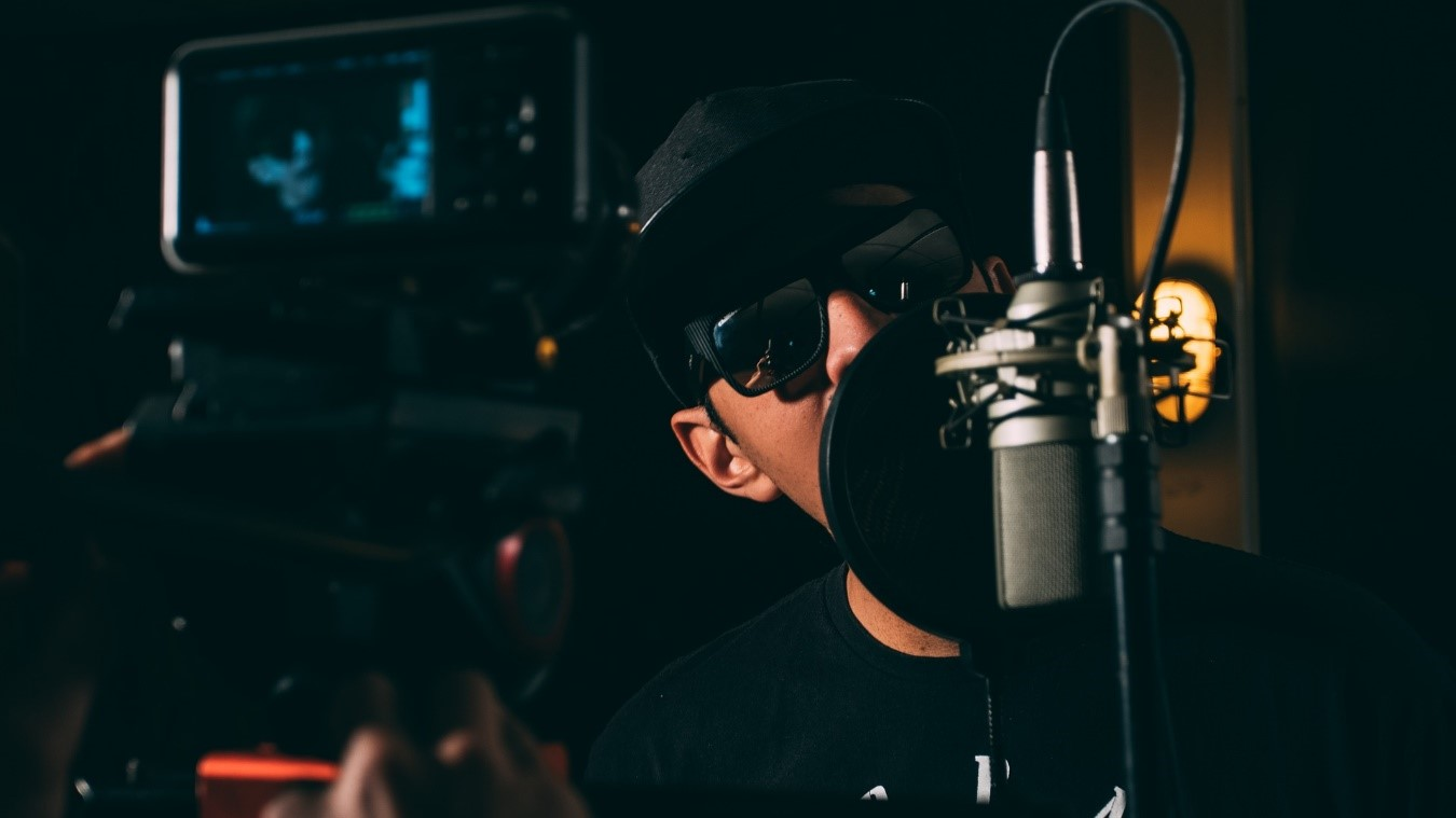 Voice-over in audiovisual projects